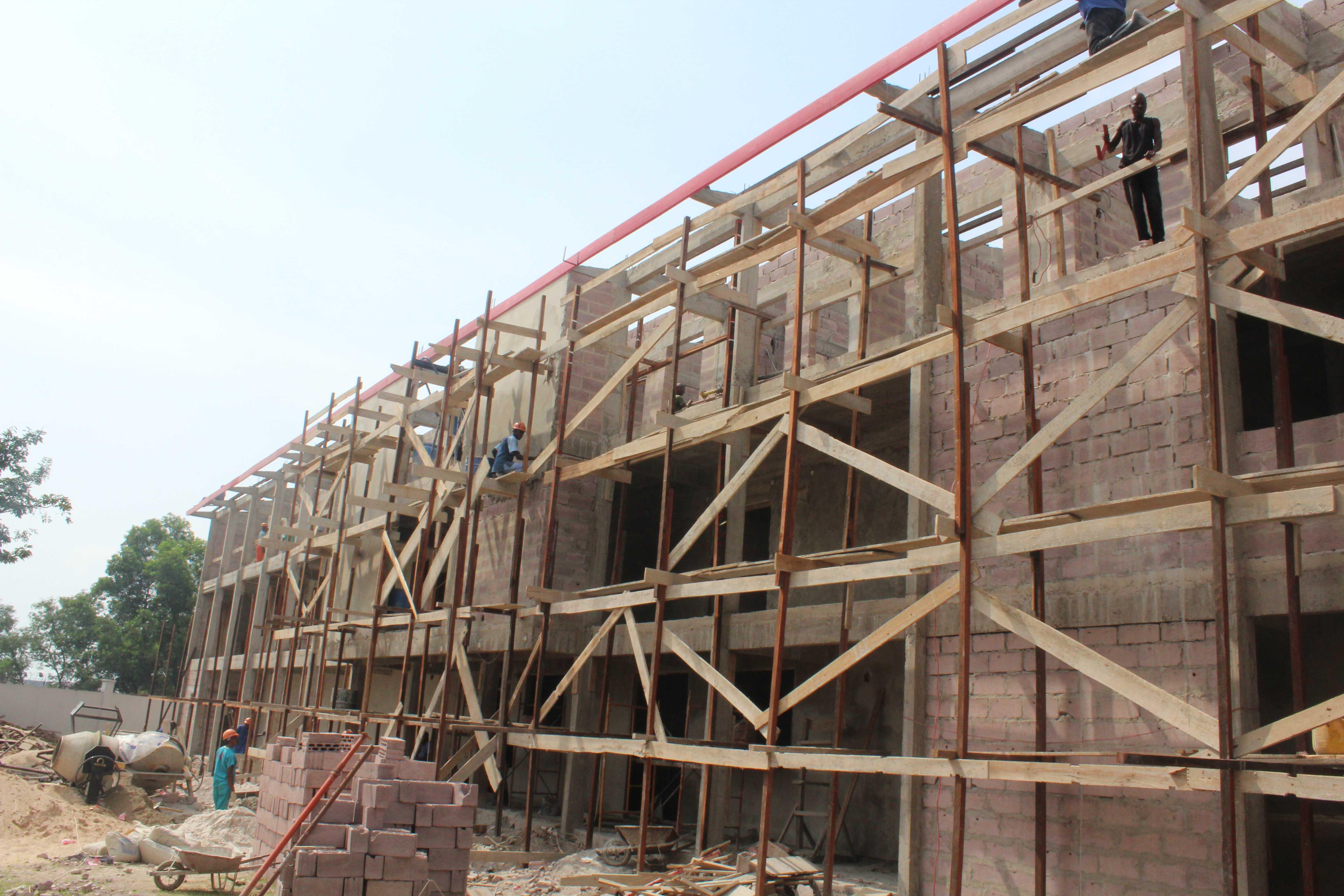 Maison Lavigerie construction