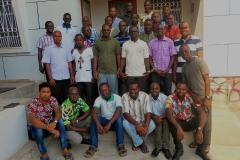 La communauté avec le P. Didier